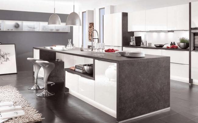 Vetra 591 Integrated Handled Nobilia Kitchen