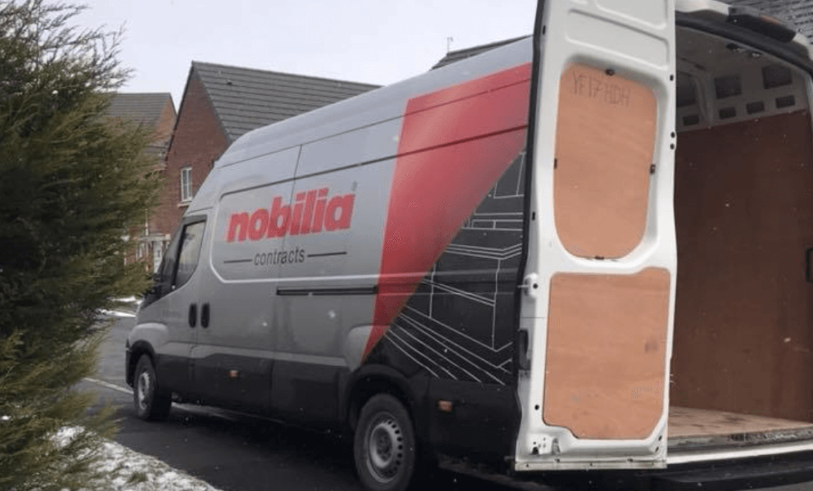 Nobilia Kitchens Delivery Van